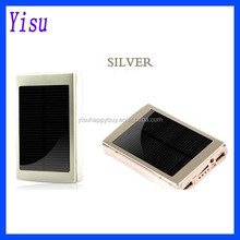 multi cables 2600 / 5000 / 8000 / 12000mAh Dual USB Portable alibaba best sellers mobile solar charger emergency power bank