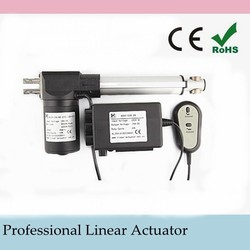 IP43 1000N 15mm/s CE waterproof Car,Medical Furniture,Home Appliance,Boat 100/150/200/250/300/350/400 mm Custom-made Actuator