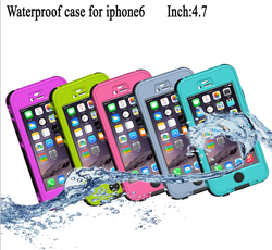 Redpepper Waterproof Case Diving Underwater Watertight Cover For IPhone 6 6s 4.7 inch Hard PC+TPU Hybrid Cover