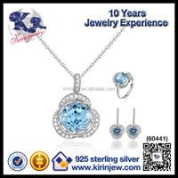 Most popular 925 sterling silver rani haar jewelry set