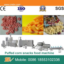 Automatic corn puffs snack maker machine