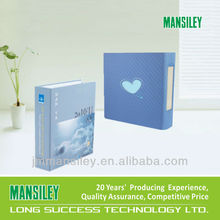 dark blue new arrival O ring pocket file folder