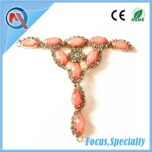 OEM Production Rhinestone Sandal Shoe Chain