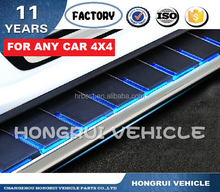running board side skirts side step car shirts famous new design auto parts running board car accessories