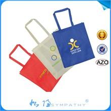 2015 custom laminated good quality non woven shopping tote bag