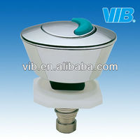 Toilet cistern tank single push button for plumbing fixture from Xiamen VIB