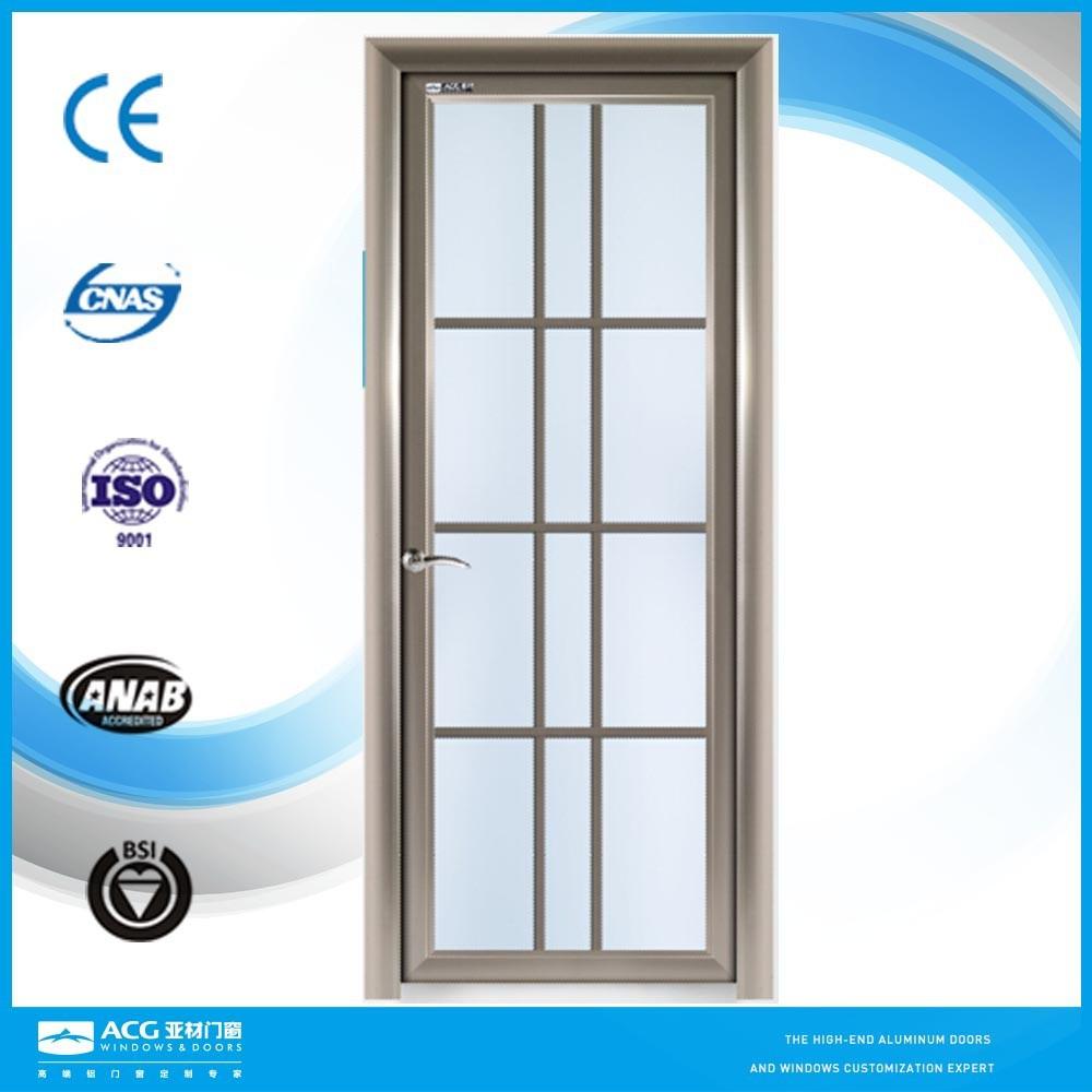 Bathroom Waterproof Aluminum Glass Door View Glass Door Acg Product Details From Guangdong