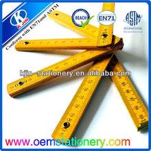 Divertido 100cm regla/100cm regla plegable/regla plegable para niños regla curva francesa