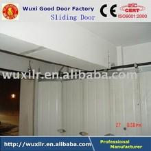 Sliding workshop door