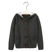 Kids cloths winter wear knitting patterns children sweater wholesale 2015
