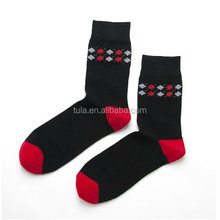 Cushion sole casual combed cotton elite socks