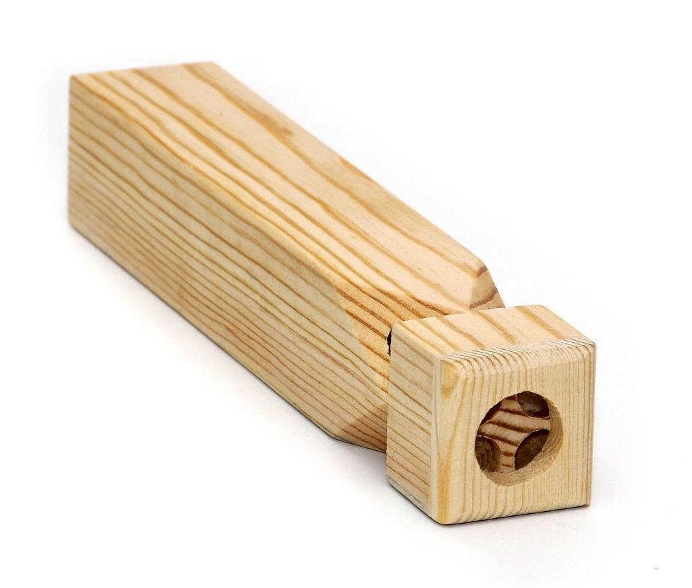 2016 판매 챔피언 나무 기차 휘슬-4 톤-천연 나무. 정품 고품질 사운드
