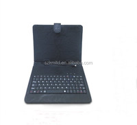 Patterned Wired Keyboard Leather Cover With USB/Min/Micro USB Interface