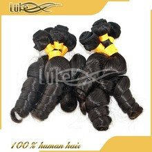 Good quality unique indian funmi wave hair extension