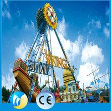 Professional Kiddie Theme Park small pirate ship