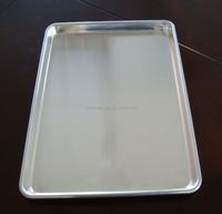 aluminum baking tray for bread, food tray, serving tray