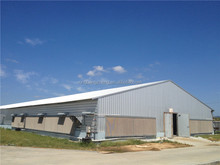 prefab environmental controlled chicken house for sale with good service