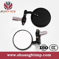 in stock SF-001 black top quality cheap aluminum mini bar end mirror