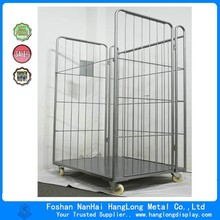 Metal industrial folding roll Container HL091A