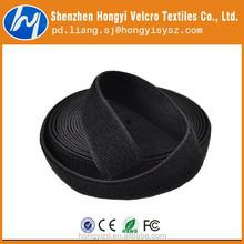 durable nylon elastic velcro band/elastic velcro fabric