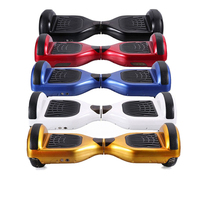 Best Christmas gift hover board 3.6v led light two wheel electric mobility scooter balance scooter with carry bag