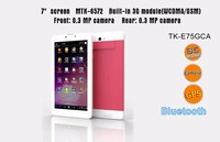 OEM 7 inch android MTK dual core cheap tablet pc built in 3g phone call function