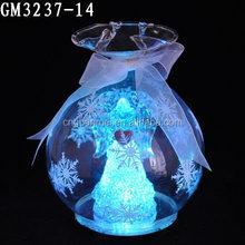 Angel light up bola para la decoración navideño