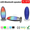2015 Colorful bulb portable Mini LED light bluetooth speaker with remote control