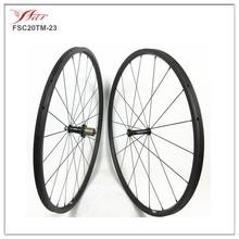 oem wholesale bicycle wheels road, 20mm deep wide 23mm carbon wheels, carbon fibre bike wheel