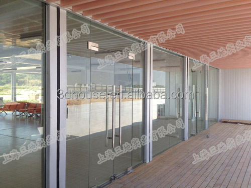 Glass decoration low cost cargo container homes for sale for Maison low cost container