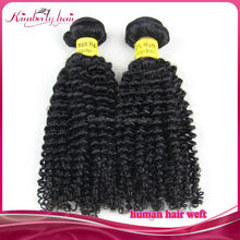 Kimberlyhair Hot sale high quality 5A indian virgin remy braid afro curl hair