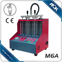 Fuel Injector cleaning machine ---injector cleaner and analyzer