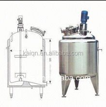 HOTSALE Steam heating mixing tank with agitator