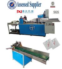 Interfolding tissue napkin machine/Automatic 3 colors printing tissue napkin converting machine