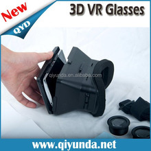 2015 ABC 3d video glasses, virtual reality 3d glasses and 3d vr glasses gamepade