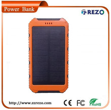 Sample!! OEM/Private Label Solar Charger 10000mAh for for mobile phone/iPhone/iPad