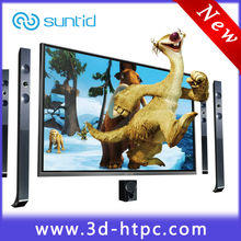 3d led lcd flat screen tv wholesale with pc all in one
