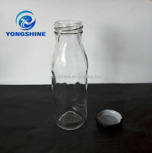 200ml fruit juice glass bottle airtight glass bottle and lids