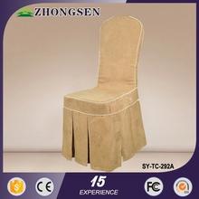 elegant luxury fashion universal wedding lycra chair covers with sashes