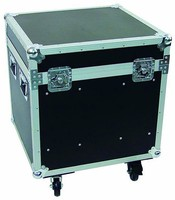 Custom heavy duty black flight case fireproof board surface RZ-SFC-022