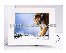 motion activated electronic photo frame 12 inch video play for advertising