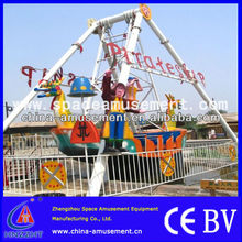 Best seller amusement park ride equipment kiddy and adults pirate ship with various models