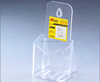 high quality crystal wall mounted acrylic business card holder