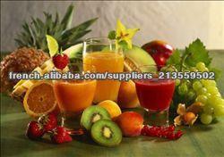 saveurs de jus réels pour l'alimentation