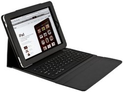 Bluetooth portable Wireless Keyboard with PU Leather Case f iPad 2