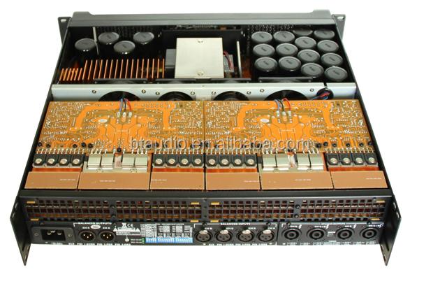 Линейного Массива FP10000Q профессиональный Усилитель Мощности с CE ROHS, 1 Год гарантии