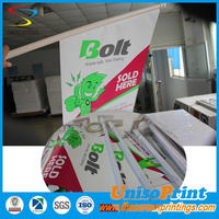 PVC Wall mounted flag for publicity advertising