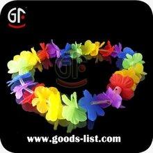 2014 led partido decoración iluminación de plástico guirnalda de flores