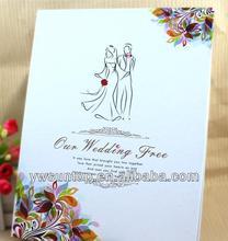 Creative fingerprint romantic love tree design wedding guest book decorations