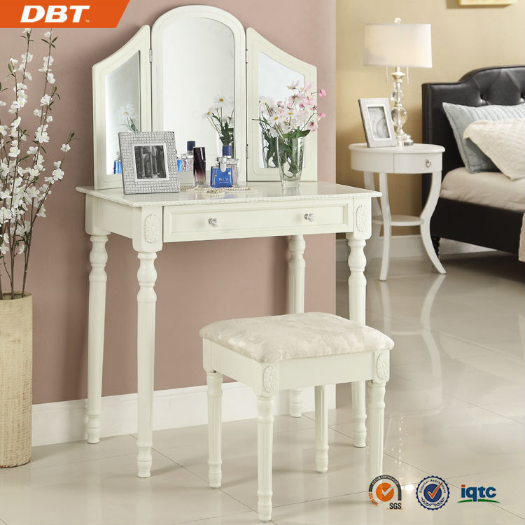 fille coiffeuse miroir commode chambre coucher. Black Bedroom Furniture Sets. Home Design Ideas